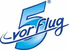 5 vor Flug Logo
