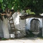 Dorf Tor bei Wanderung