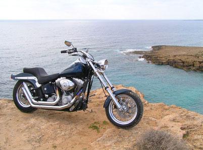 Harley Treffen in Matala