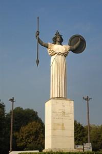 Matala Statue