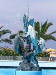Der Urlaubsort Stalis auf Kreta