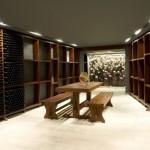 Wein und Ruheraum